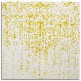 rug #1092454 | square yellow graphic rug