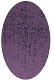 rug #1092598 | oval purple faded rug