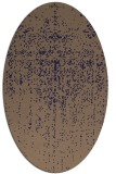 rug #1092606 | oval beige faded rug