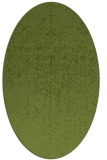 rug #1092626 | oval green abstract rug