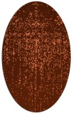 rug #1092714 | oval red-orange abstract rug