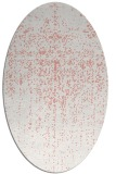 rug #1092730 | oval white faded rug