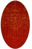rug #1092755 | oval abstract rug