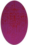 rug #1092762 | oval red faded rug