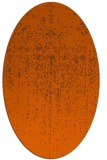 rug #1092774 | oval red-orange abstract rug
