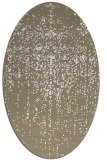 rug #1092810 | oval white abstract rug