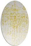 rug #1092822 | oval white abstract rug