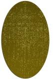rug #1092835 | oval faded rug