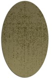 rug #1092846 | oval light-green rug