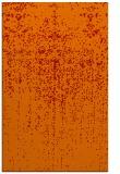 rug #1093122 |  orange faded rug