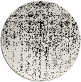 rug #1093238 | round black abstract rug