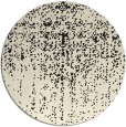 rug #1093258 | round black natural rug