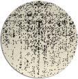 rug #1093258 | round black rug