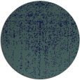 rug #1093274 | round blue faded rug