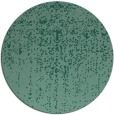 rug #1093290 | round blue-green faded rug
