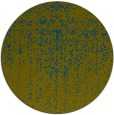 rug #1093314   round green abstract rug
