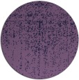 rug #1093334 | round purple faded rug