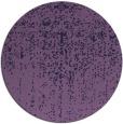 rug #1093334 | round purple graphic rug
