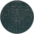 rug #1093366 | round blue-green faded rug