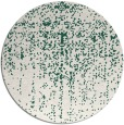 rug #1093370 | round green abstract rug