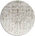 rug #1093394 | round mid-brown natural rug