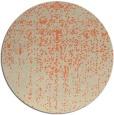 rug #1093446 | round beige faded rug