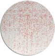 rug #1093466 | round white faded rug