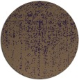 rug #1093478 | round purple faded rug