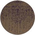 rug #1093478 | round purple natural rug