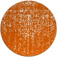 rug #1093514 | round red-orange rug