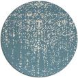 rug #1093542 | round blue-green rug