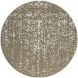 rug #1093546 | round white abstract rug