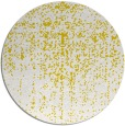 rug #1093558 | round yellow graphic rug