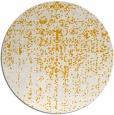 rug #1093586 | round light-orange faded rug