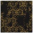 rug #1093990 | square mid-brown rug