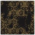 rug #1093998 | square mid-brown faded rug