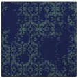 rug #1094010 | square blue-green faded rug