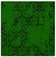 rug #1094030 | square green damask rug
