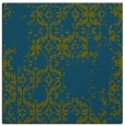 rug #1094050 | square green damask rug