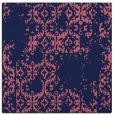 rug #1094066 | square blue-violet damask rug