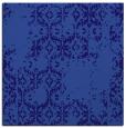 rug #1094074 | square blue-violet damask rug