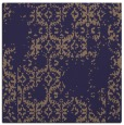 rug #1094078 | square blue-violet damask rug
