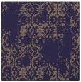 rug #1094078 | square blue-violet faded rug