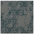 rug #1094102 | square green traditional rug