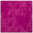 rug #1094190 | square pink traditional rug