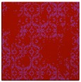 rug #1094234 | square red faded rug