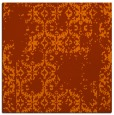 rug #1094238 | square red-orange traditional rug