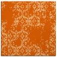 rug #1094242 | square red-orange faded rug