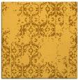 rug #1094298   square yellow rug