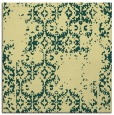 rug #1094302 | square yellow traditional rug